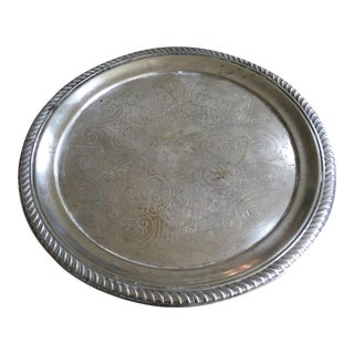 Vintage F.B. Rogers Silver Co. Tray For Sale