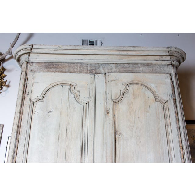 19th Century Antique French Oak Armoire For Sale In Houston - Image 6 of 13