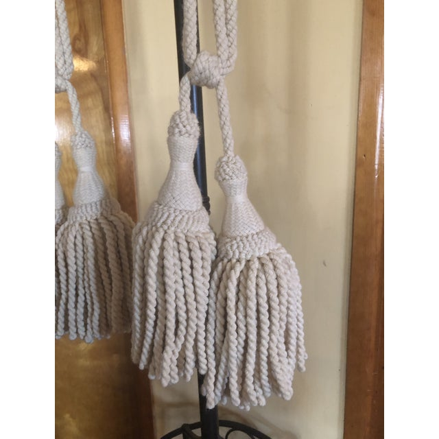 Beautiful Vintage Ramm Son & Crocker Double Tieback Tassels. These are very rare because Ramm Son & Crocker only made a...
