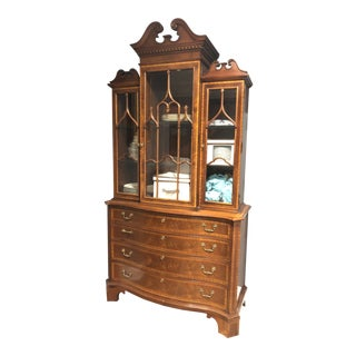 Hickory Chair China Cabinet For Sale