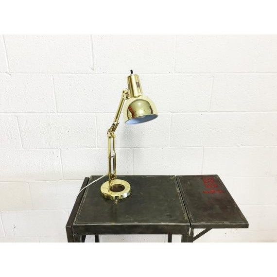 Mid-Century Modern Industrial Desk Lamp - Image 3 of 6