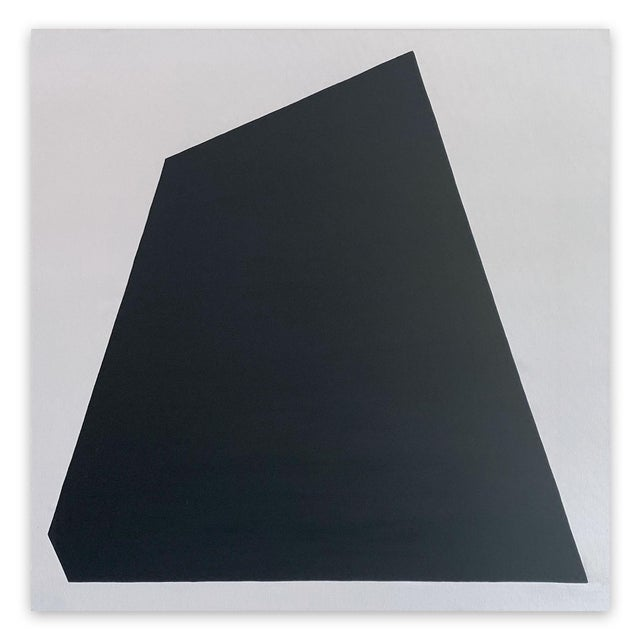 "Ulla Pedersen ""Untitled Black 2009"", Painting For Sale - Image 6 of 6"