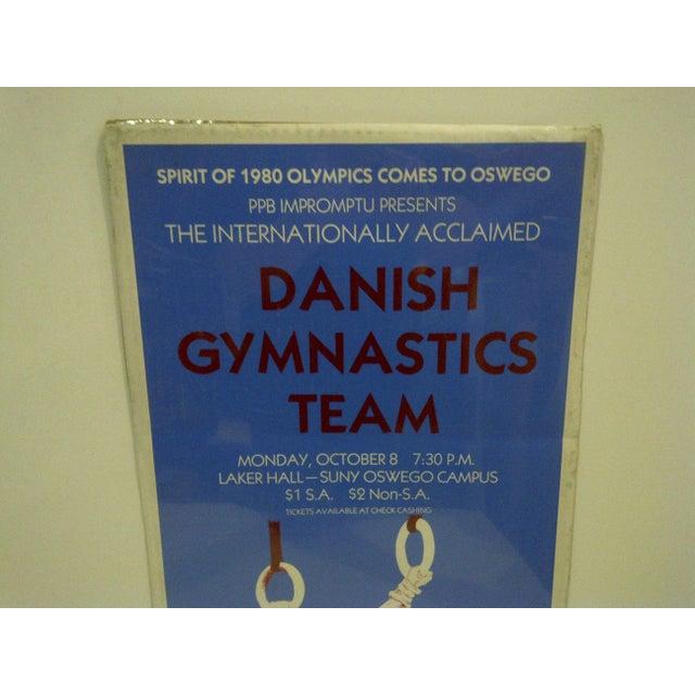"Danish Gymnastics ""Spirit of 1980 Olympics"" Team Poster - Image 3 of 4"