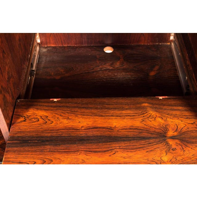 Brown Midcentury Rosewood Credenza For Sale - Image 8 of 11