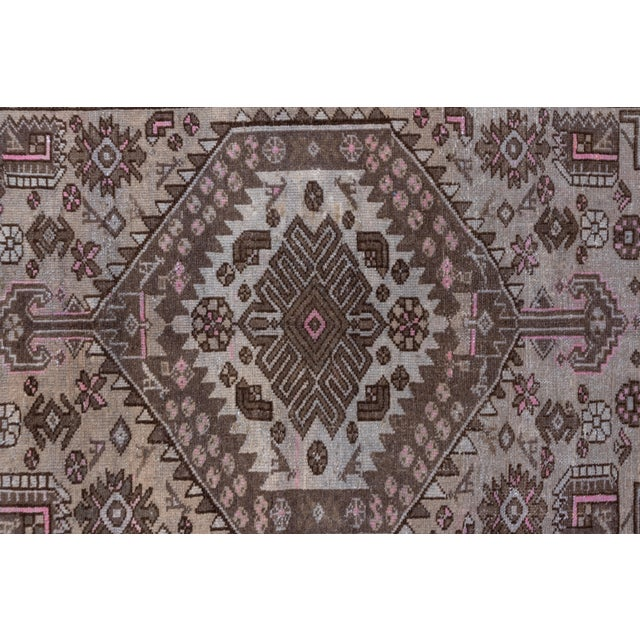 1940s 1940s Vintage Hamadan Rug- 4′4″ × 7′7″ For Sale - Image 5 of 8