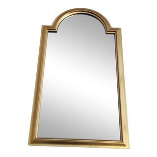 1970s Vintage LaBarge Gold Gilt Neoclassical Beveled Wall Mirror For Sale