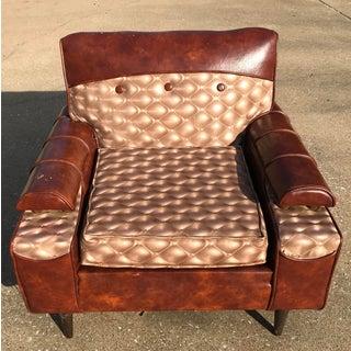 Unique Vintage Mid Century Lounge Chair Preview
