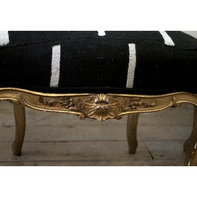Late 19th Century Giltwood Louis XV Style French Chairs- A Pair For Sale - Image 10 of 13