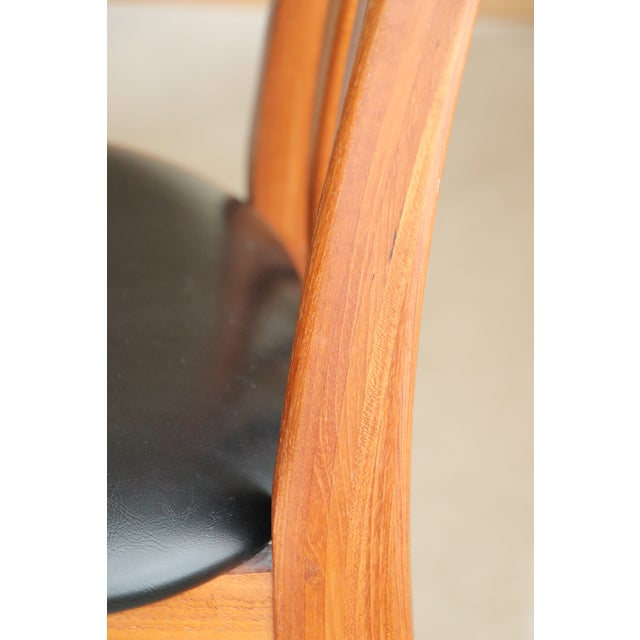 "Wood Danish Modern Niels Koefoed ""Eva"" Dining Chairs - Set of 6 For Sale - Image 7 of 11"