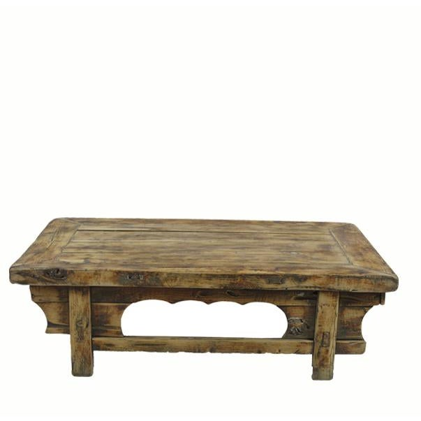 1910s Low Rustic Accent Table For Sale - Image 5 of 5