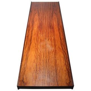 Danish Modern Bruksbo Short Rosewood Bench Coffee Table For Sale