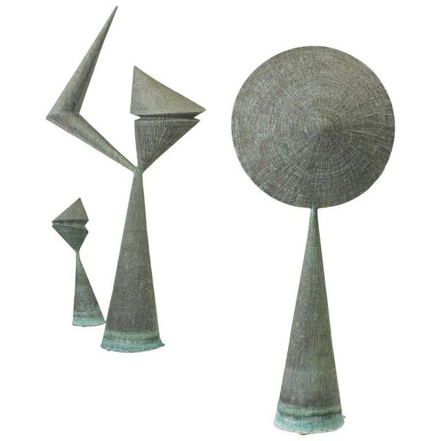 Harry Bertoia Important Harry Bertoia Sculptures from Stemmons Towers, Dallas For Sale - Image 4 of 4