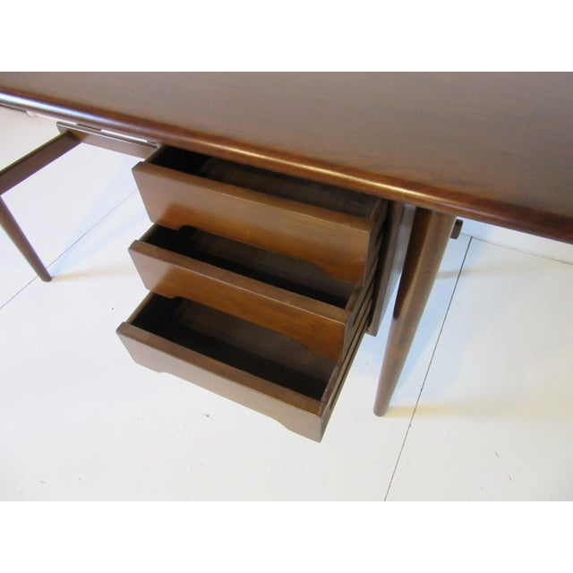 Danish Mid-Century Desk For Sale In Cincinnati - Image 6 of 10