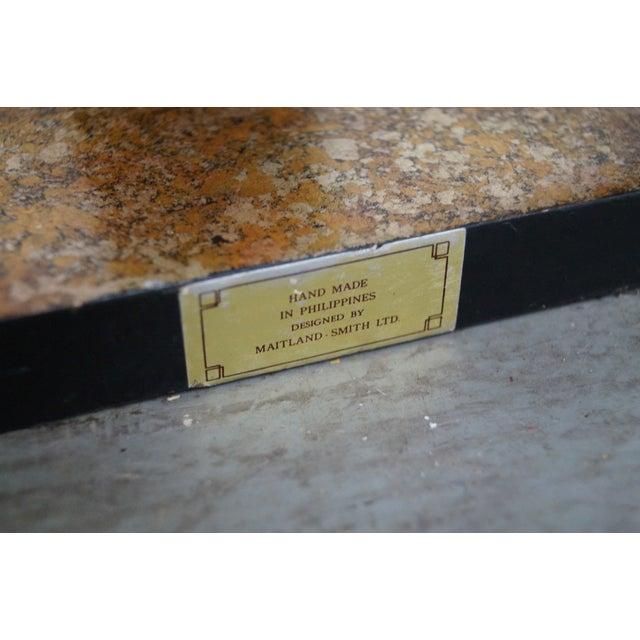 Maitland Smith Gilt Wall Shelves - Pair - Image 9 of 10