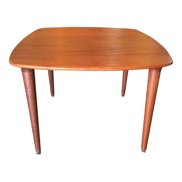 Norwegian Side Table in Teak - Image 1 of 4