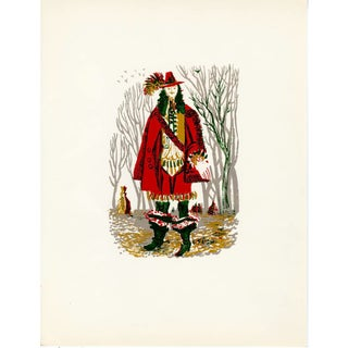 """""""People of Versailles"""", Limited Edition Serigraph Circa 1952 (4) For Sale"""