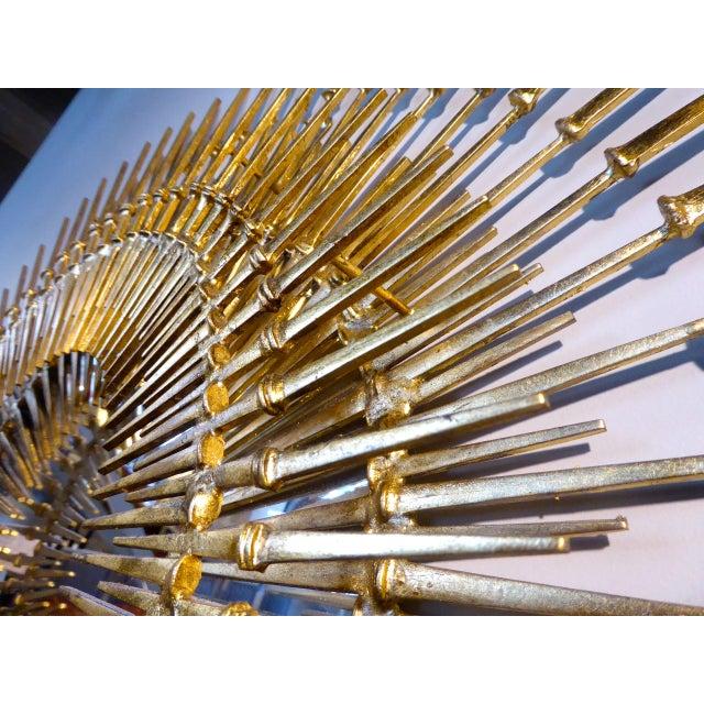 """""""Corona Regalis"""" a contemporary wall sculpture/mirror by Del Williams - Image 4 of 6"""