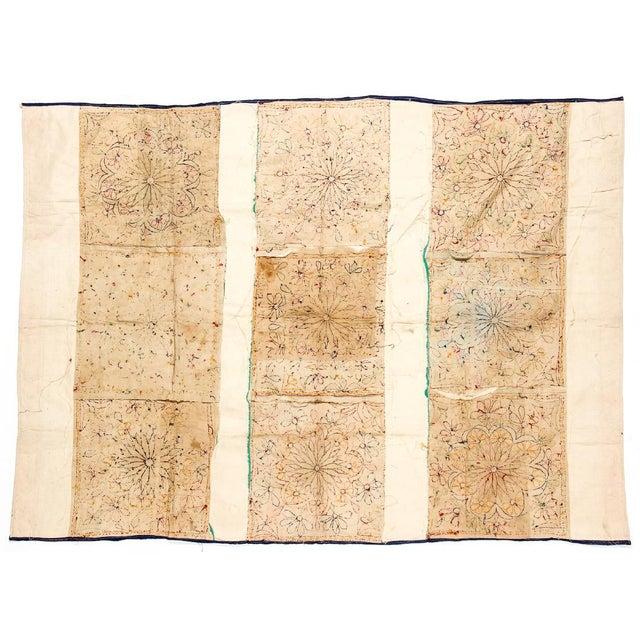 Large Vintage Dowry Textile, Gujarat India - Image 4 of 5