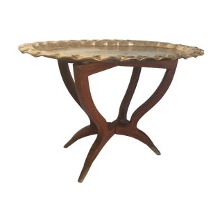 Beautiful Moroccan Tray Table For Sale