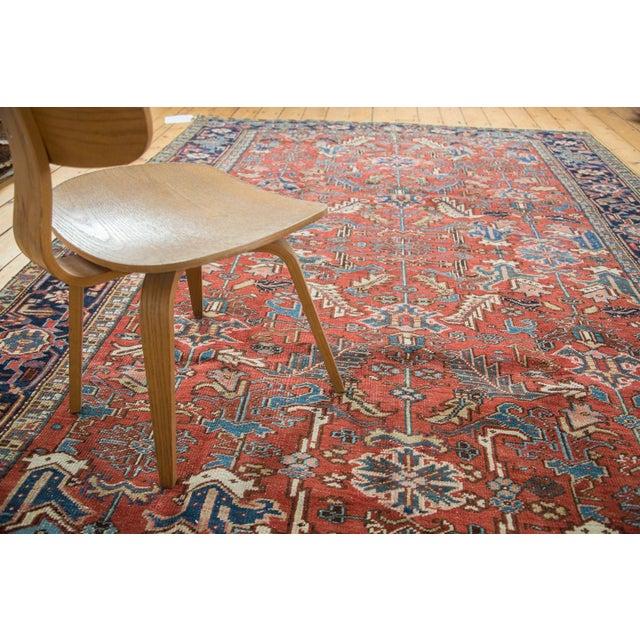 "Vintage Heriz Carpet - 7'6"" X 11'1"" - Image 8 of 10"