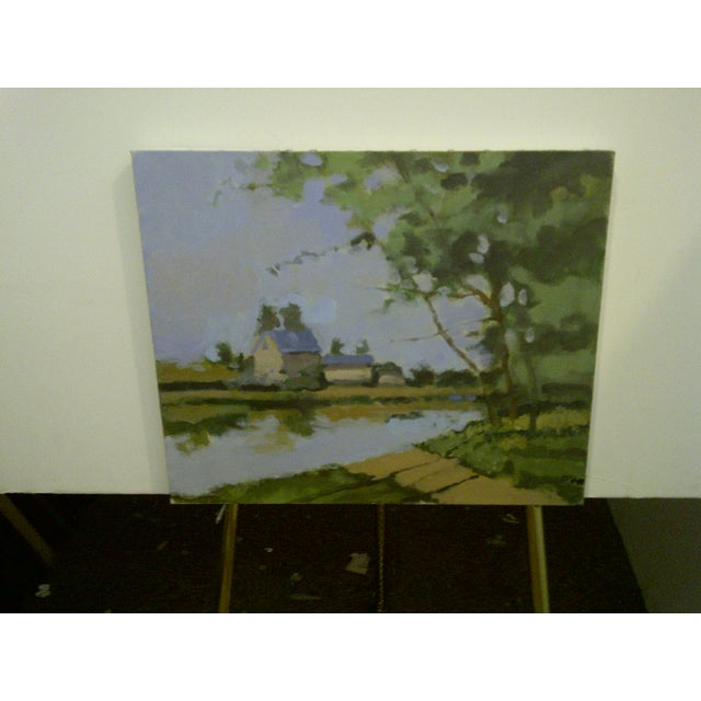 """The Farm"" Original Painting by Frederick McDuff - Image 2 of 7"
