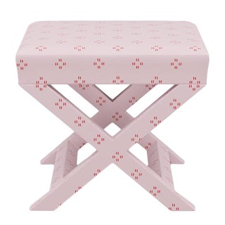 X Bench in Pink Faro For Sale