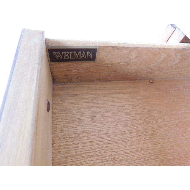 """Late 20th Century Weiman Georgian Queen Anne Style Walnut Slant Front Writing Desk 41""""h X 26""""w For Sale - Image 5 of 12"""