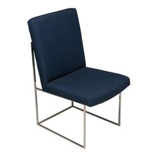 Milo Baughman Thayer Coggin Side Dining Chair Original Fabric For Sale