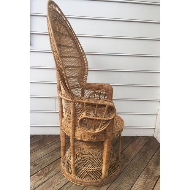 Vintage Peacock Chair - Image 5 of 10