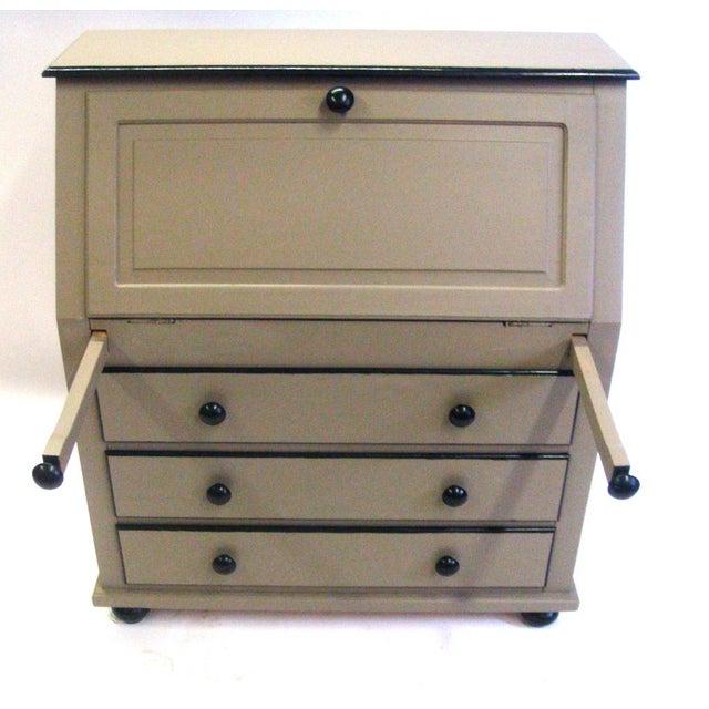 Painted Gray & Black Secretary - Image 5 of 7