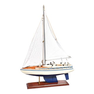 1930s Nautical Sailboat or Yacht Model For Sale