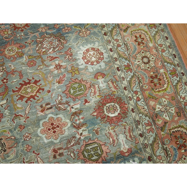 Antique Malayer Rug, 9' X 11'8'' For Sale In New York - Image 6 of 11