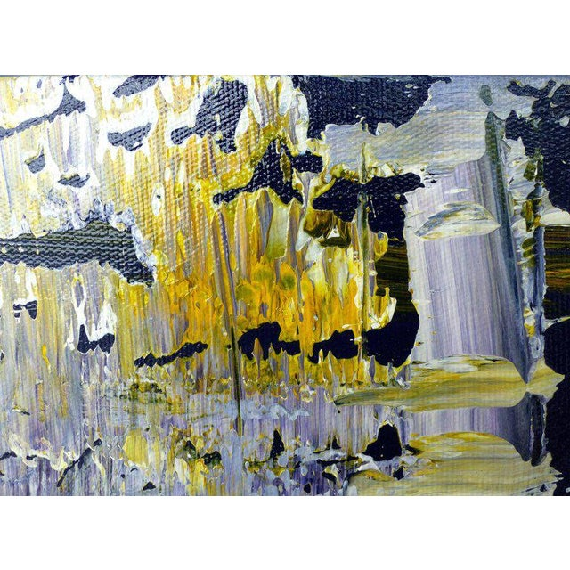Abstract Abstract Painting by the Brazilian Artist Claudio Cardoso For Sale - Image 3 of 8