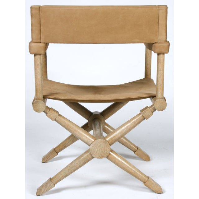 Pair of Suede Director's Chairs For Sale In San Francisco - Image 6 of 7