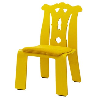 "Robert Venturi's ""Chippendale"" Chair by Knoll For Sale"