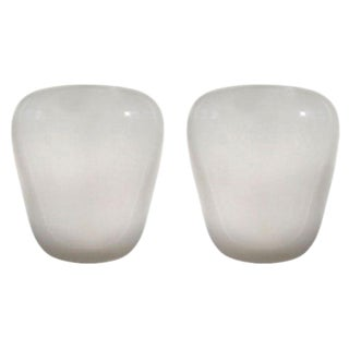 Wilhelm Wagenfeld For Lindner Geometric Glass Sconces - A Pair For Sale