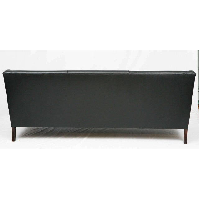 Wood Frits Henningsen Sofa For Sale - Image 7 of 7