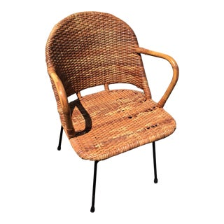 Calif-Asia Mid-Century Rattan Chair