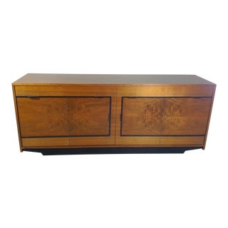 1960s Mid Century Modern Wood Credenza For Sale