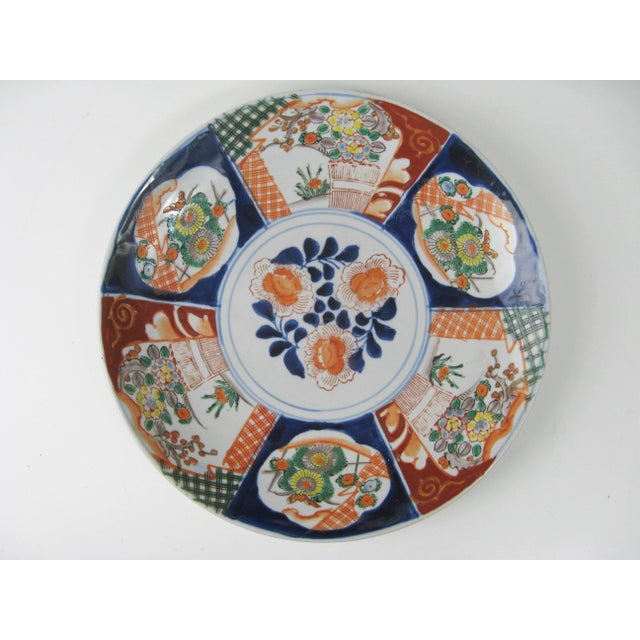 Antique Japanese Arita Charger, Meiji Period, 1868-1912 For Sale In New York - Image 6 of 6