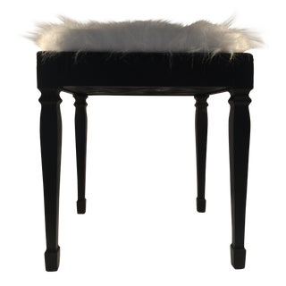 Faux Fur Piano Bench For Sale