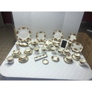 1970s Royal Albert Old Country Rose Early 20th Century Collection - Set of 57 Preview