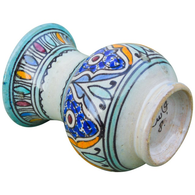 Antique Andalusian Ceramic Vase For Sale - Image 9 of 10