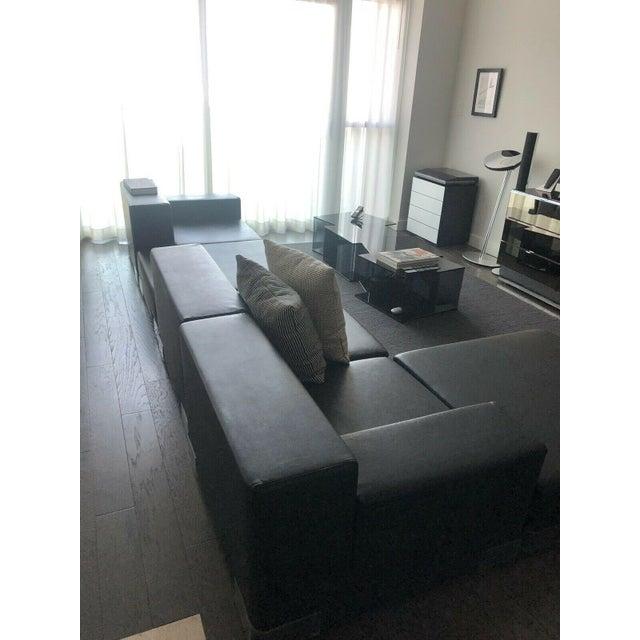 Modern Kartell Plastic Modular Sectional Sofa- 5 Pieces