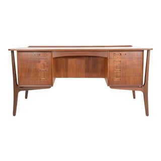 Kai Kristiansen Executive Desk for Povl Dinesen For Sale