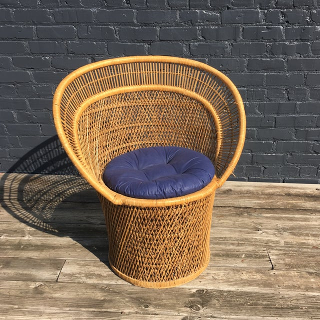 Mid Century Boho Side Chair - Image 2 of 7