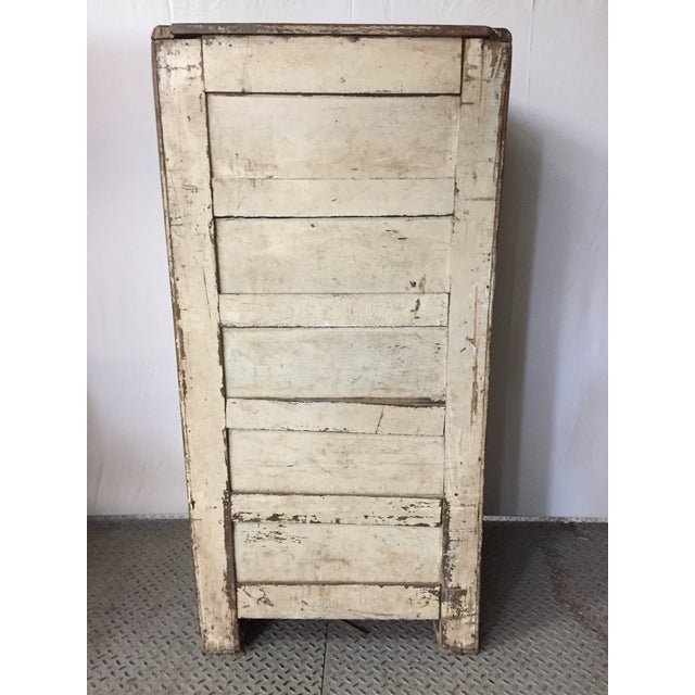 Oak Ice Box Cooler 19 th For Sale - Image 5 of 9