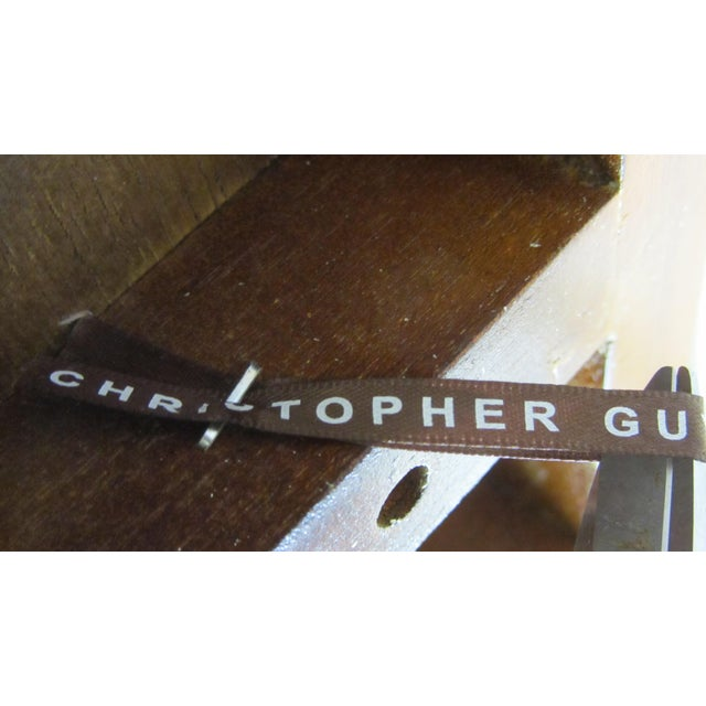 Christopher Guy Medium Giltwood Floor Candlestick - Image 9 of 10