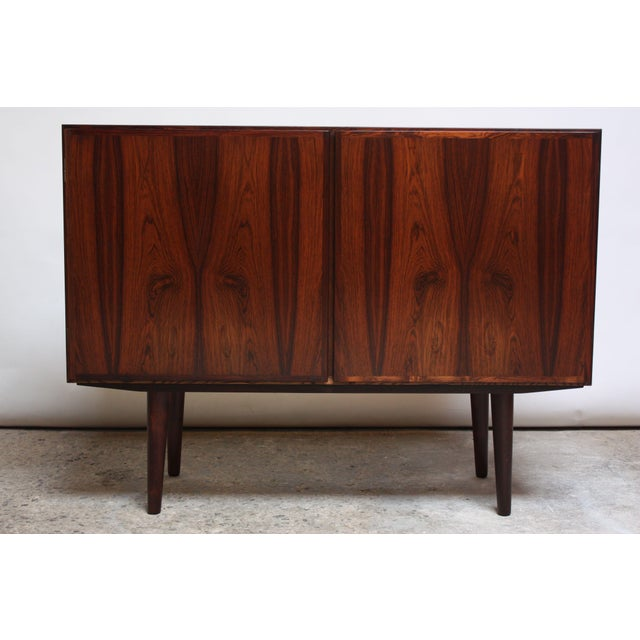 Danish Rosewood Two-Piece Bookcase by Gunni Omann - Image 7 of 8