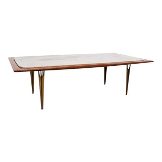 Mexican Midcentury Modernist Coffee Table, Circa 1950s Eugenio Escudero For Sale